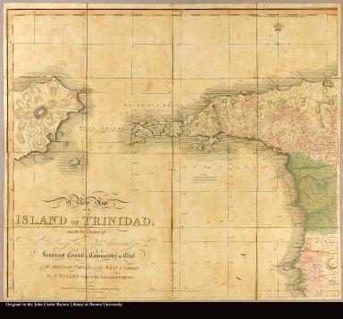 [upper left with northwestern Trinidad and part of Venezuela]