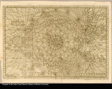 [Chart of the Atlantic Ocean]