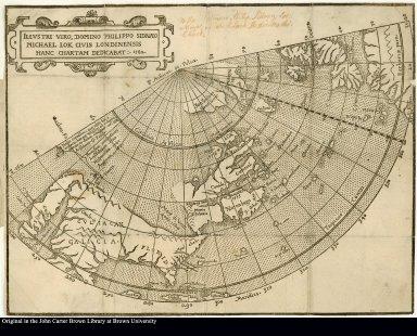 Illustri viro, domino Philippo Sidnaeo Michael Lok civis Londinensis hanc chartam dedicabat: 1582.