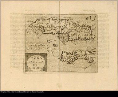 Cuba insula et Jamaica