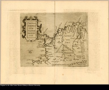 Castilla aurifera cum vicinis provinciis