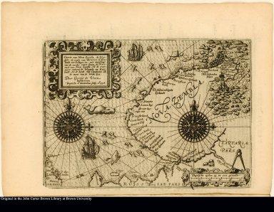 Caerte van Nova Zembla, de Weygats, de custe van Tartarien en Ruslandt tot Kilduyn toc ...