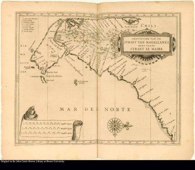 Provincien van de Straet van Magallanes, ende vande Straet Le Maire.