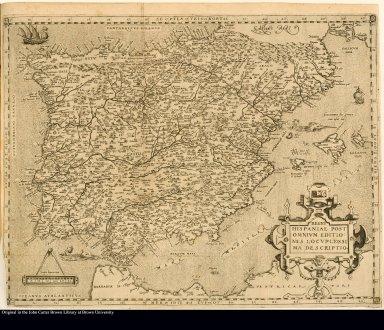 Regni Hispaniae post omnium editiones locumplessima Descriptio