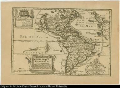 L'Amerique, meridionale et septentrionale