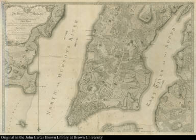 Plan of the City of New York, in North America: Surveyed in the Years 1766 & 1767.
