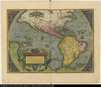 Americae sive Novi orbis, nova descriptio.