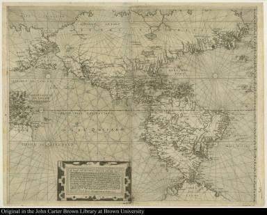 ... un disegno, ouero una particolar descrittione di tutte le nauigationi del Mondo nuouo ...