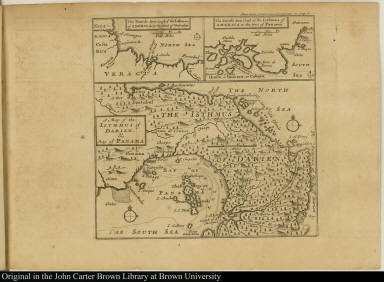 A Map of the Isthmus of Darien, & Bay of Panama