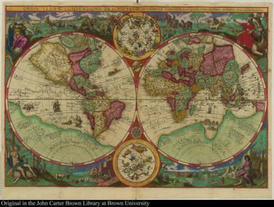 Orbis terrae compendiosa descriptio ex peritissimorum totius orbis Gaeographorum operibus desumta.