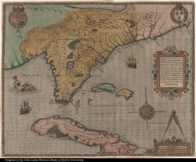 Floridae Americae provinciae Recens & exactissima descriptio ...