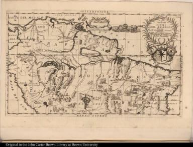Corso del fiume dell Amazoni