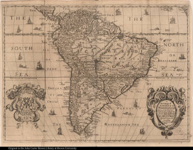 A New Mapp of America Meridionale ...