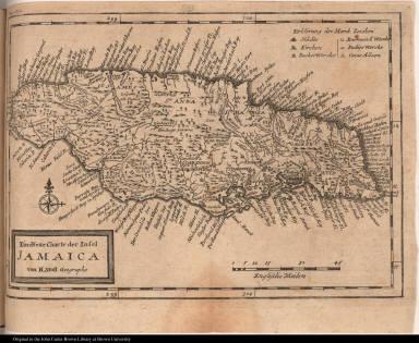 Eine Neue Charte der Insel Jamaica