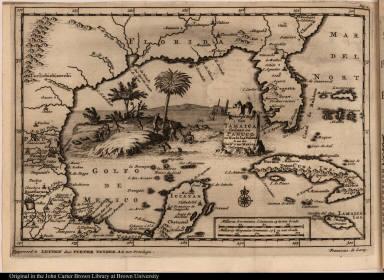 Scheeps Togt Van Iamaica Gedaan na Panuco en Rio de las Palmas Aan de Golf van Mexico Gelegen.