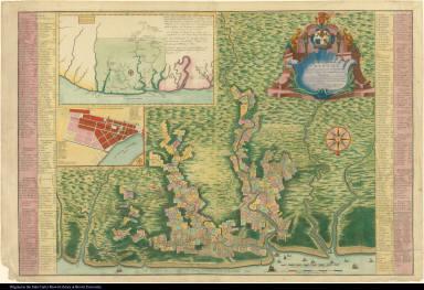 Algemeene Kaart van de Colonie of Provintie van Suriname, ...