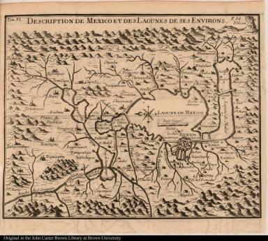 Description de Mexico et des Lagunes de ses Environs