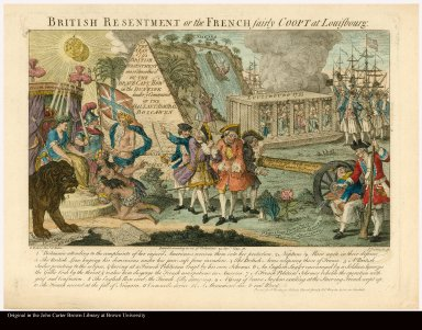 BRITISH RESENTMENT or the FRENCH fairly COOPT at Louisbourg
