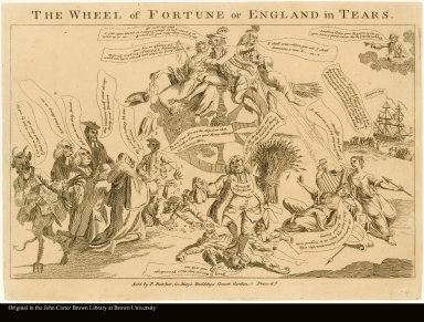 THE WHEEL of FORTUNE or ENGLAND in TEARS.