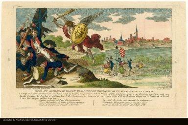 Dedié aux généraux de l'armée de la Grande Bretagne parun zealteur de la liberté.