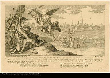 Dedié aux généraux de l'armée de la Grande Bretagne par un zealteur de la liberté.