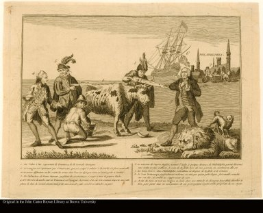 Explication de ce tableau touchant l'etat de la Nation d'Angleterre. [State of the English Nation]