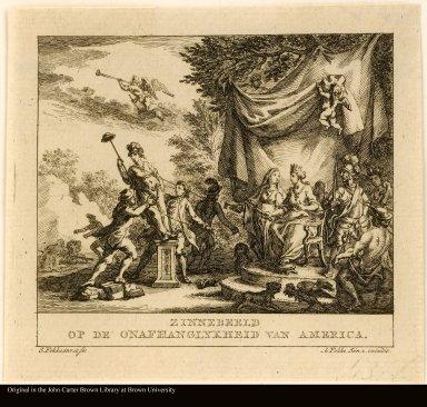 ZINNEBEELD OP DE ONAFHANGLKYHEID VAN AMERICA [Symbol of the independence of America]