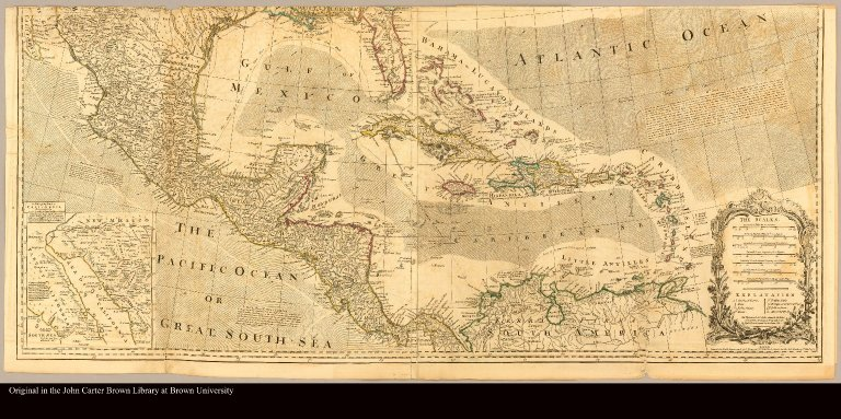 [Map of North America including the West Indies]