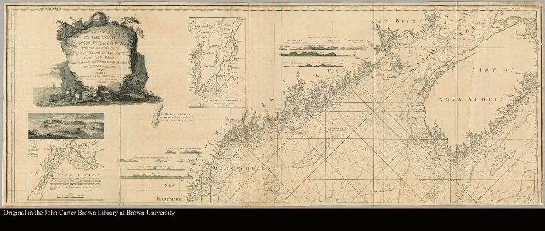 [left part of Chart of New England]