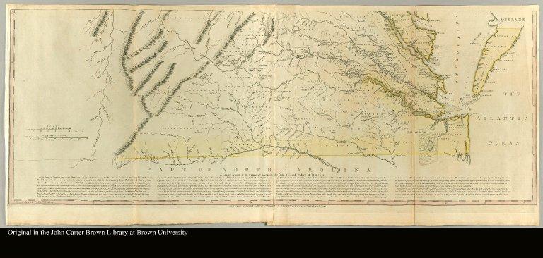 [bottom half of map of Virginia]