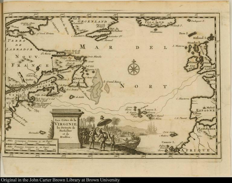 Les Côtes de la Virginie, les Detroits de Forbisher [sic] et de Hudson