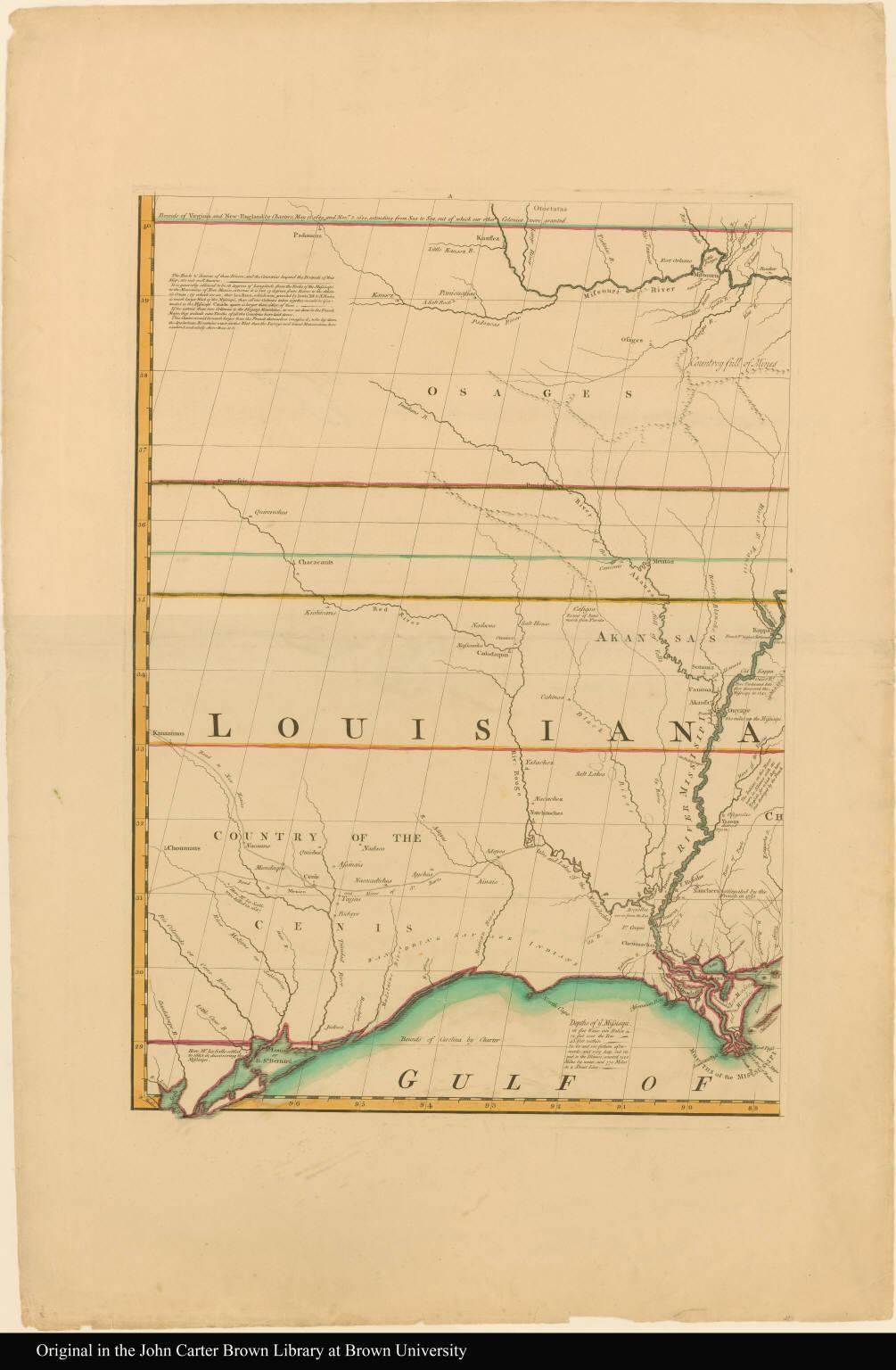 [Sheet 8: Louisiana territory]