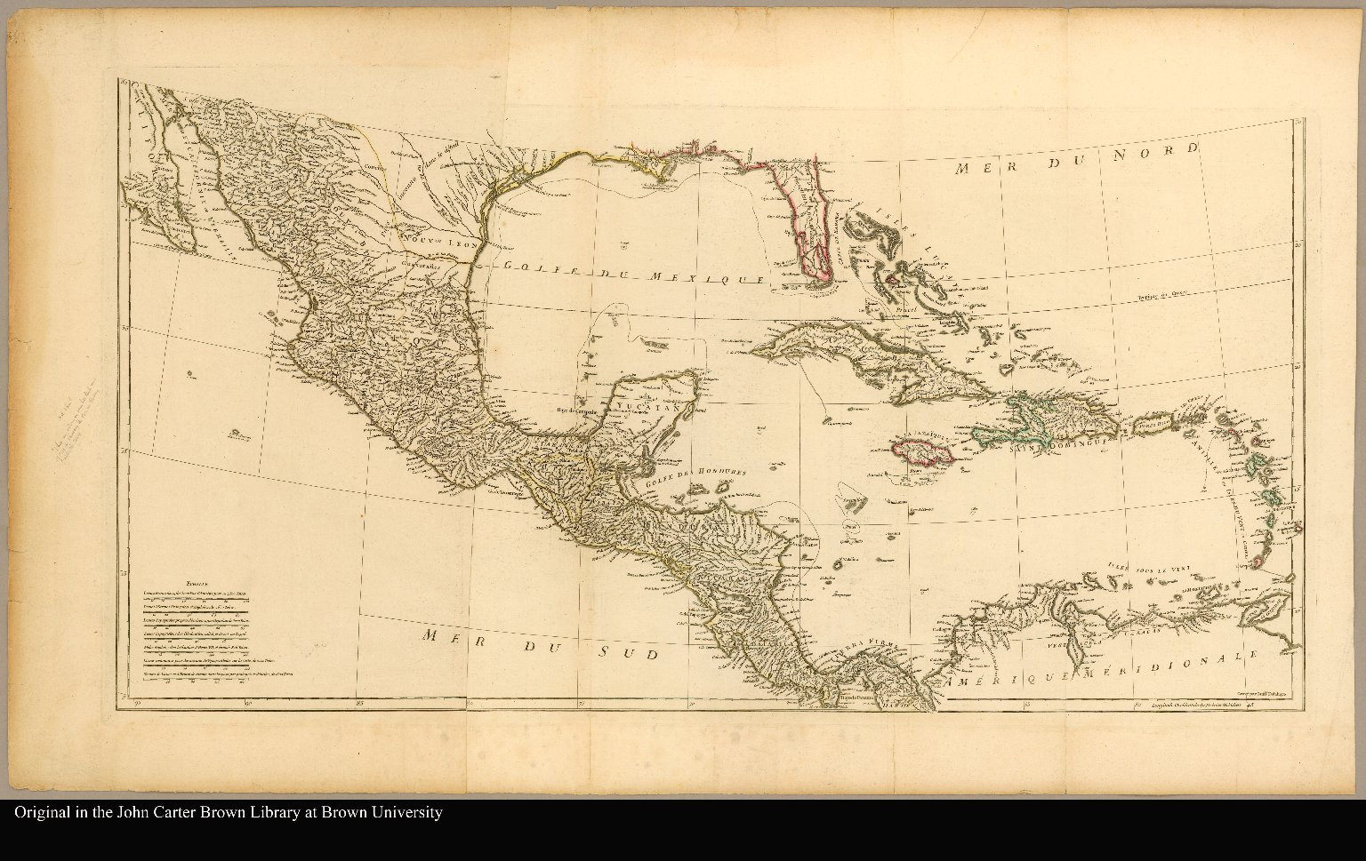 [Map of the southern part of North America]
