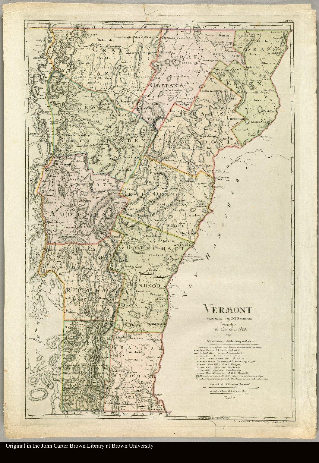Vermont entworfen von D.F. Sotzmann P. Schmidt sc. zu Berlin