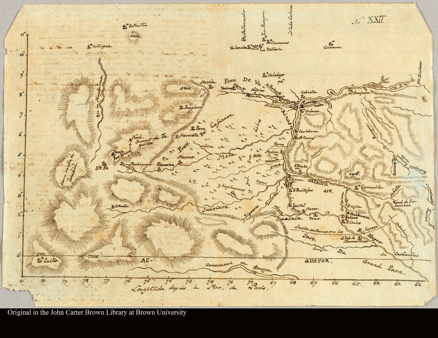 [Orinoco River, 1800]