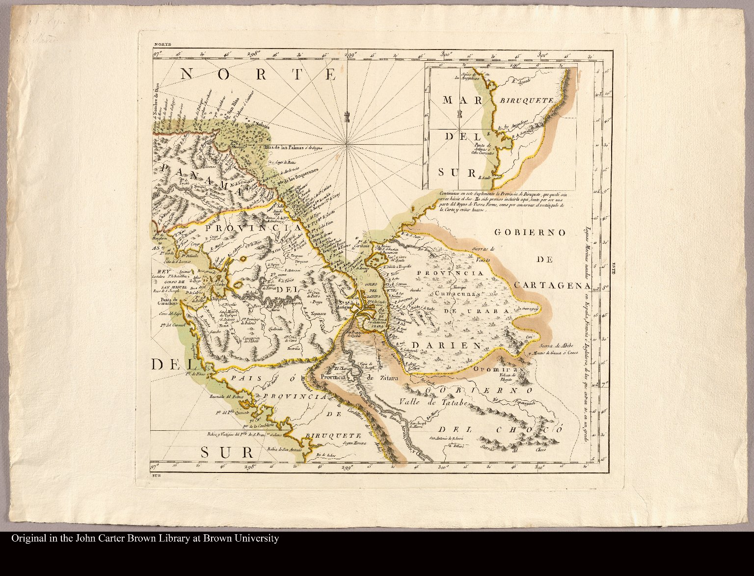 [Sheet 2. Map of Panama and the Darien colony]