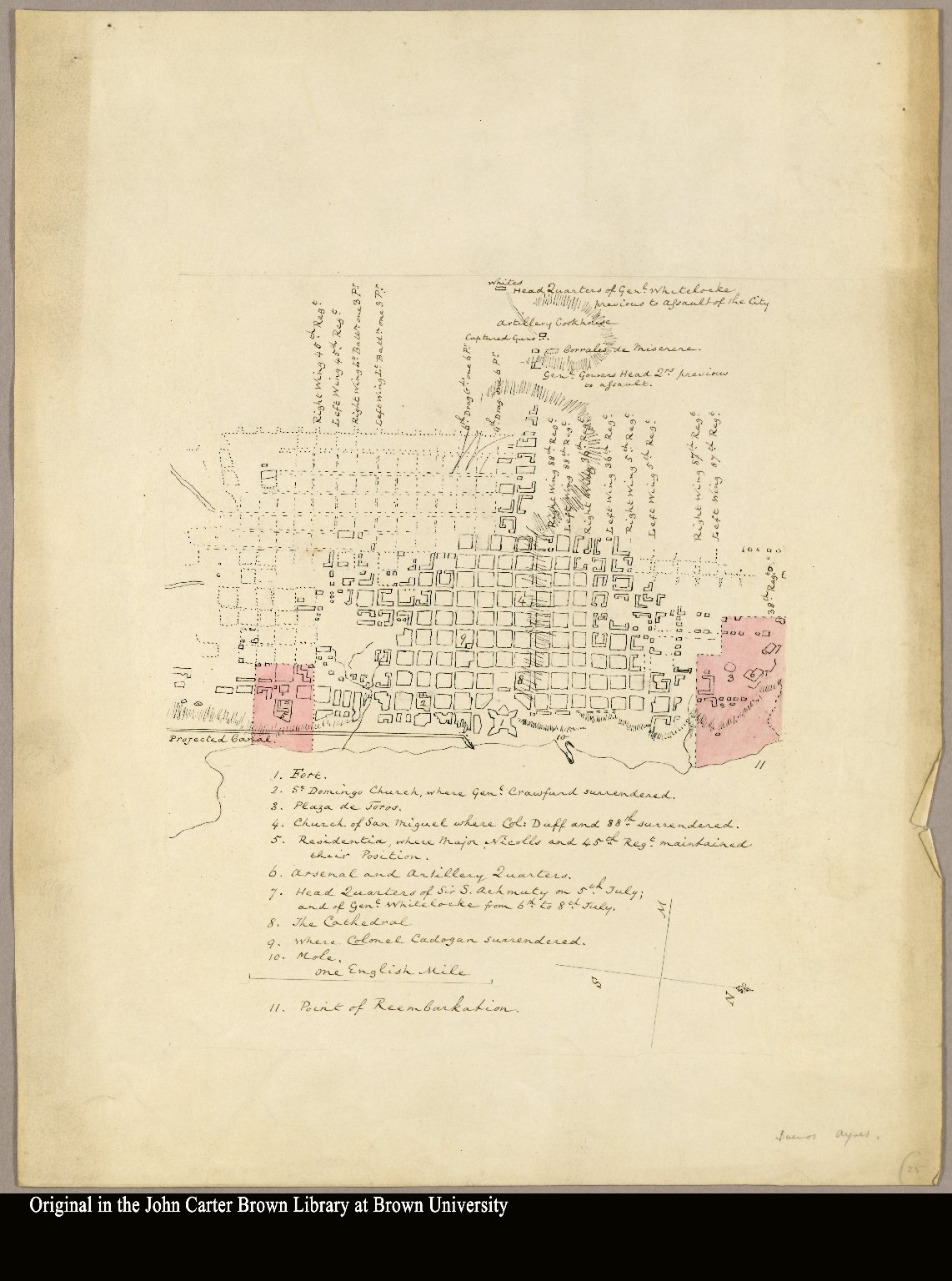 [Map 21] [Plan of Buenos Aires, Argentina]