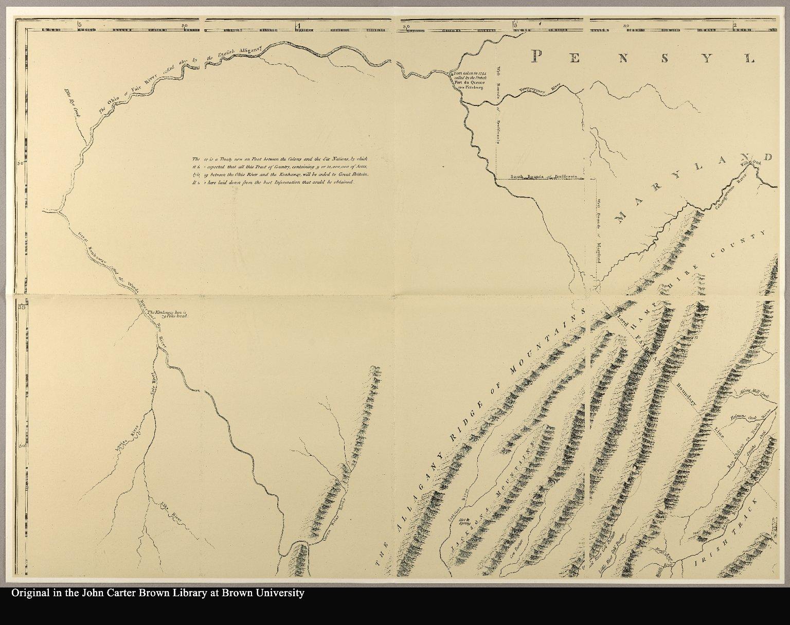[upper left] map of Virginia