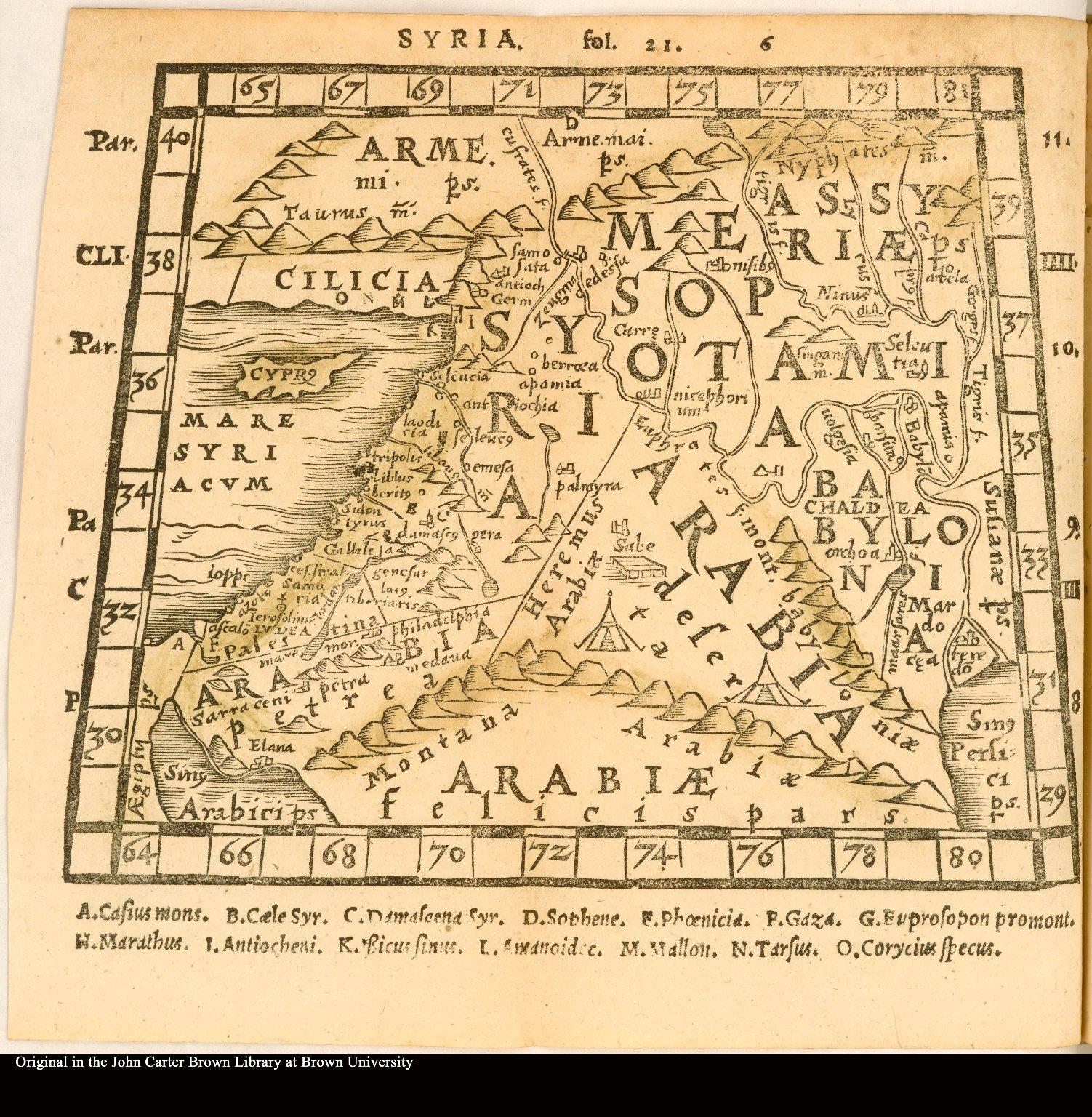 Syria [Middle East, Mesopotamia, Syria, Babylonia, and the Arabian peninsula]