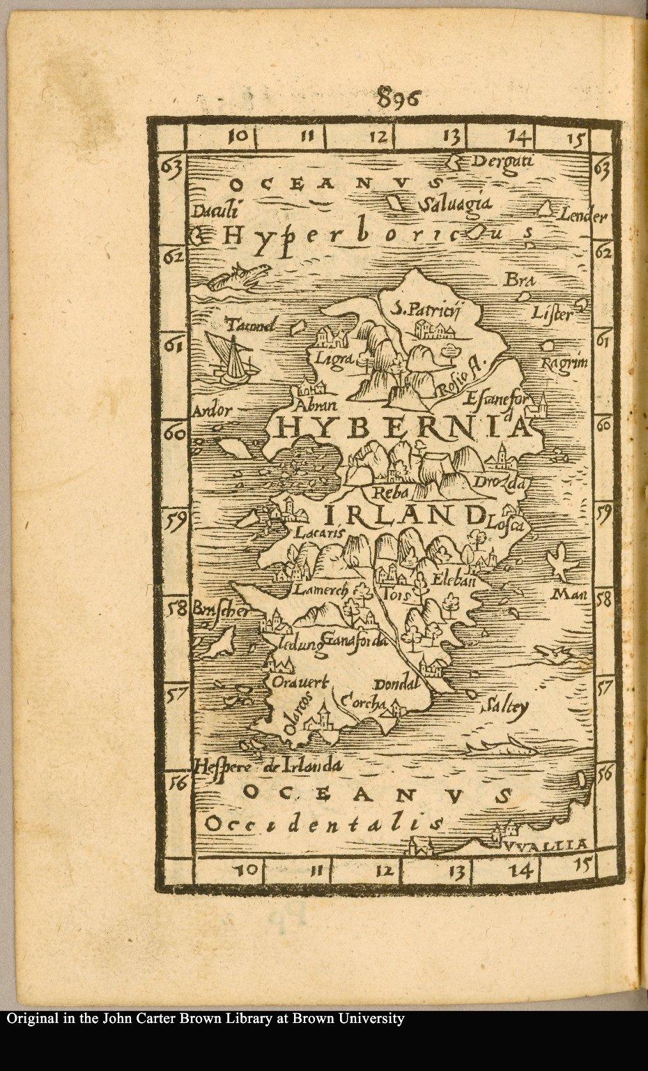 [Ireland] Hibernia [title on verso]