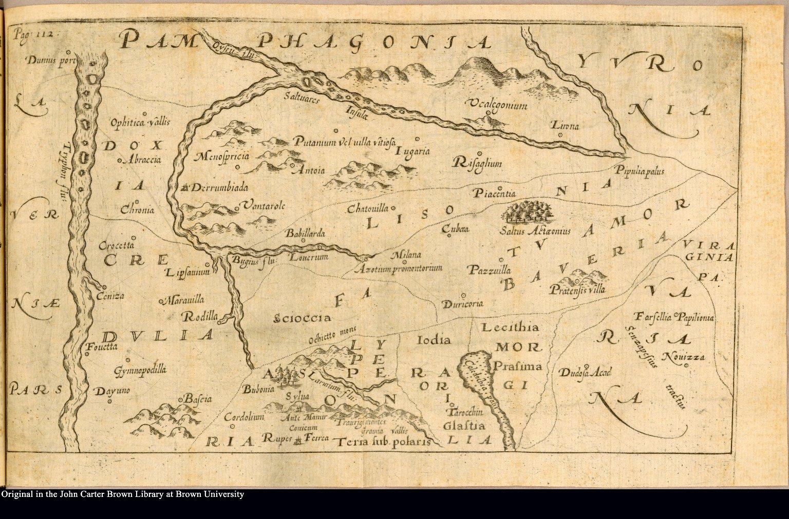 """[Plan of """"Pamphagonia""""]"""