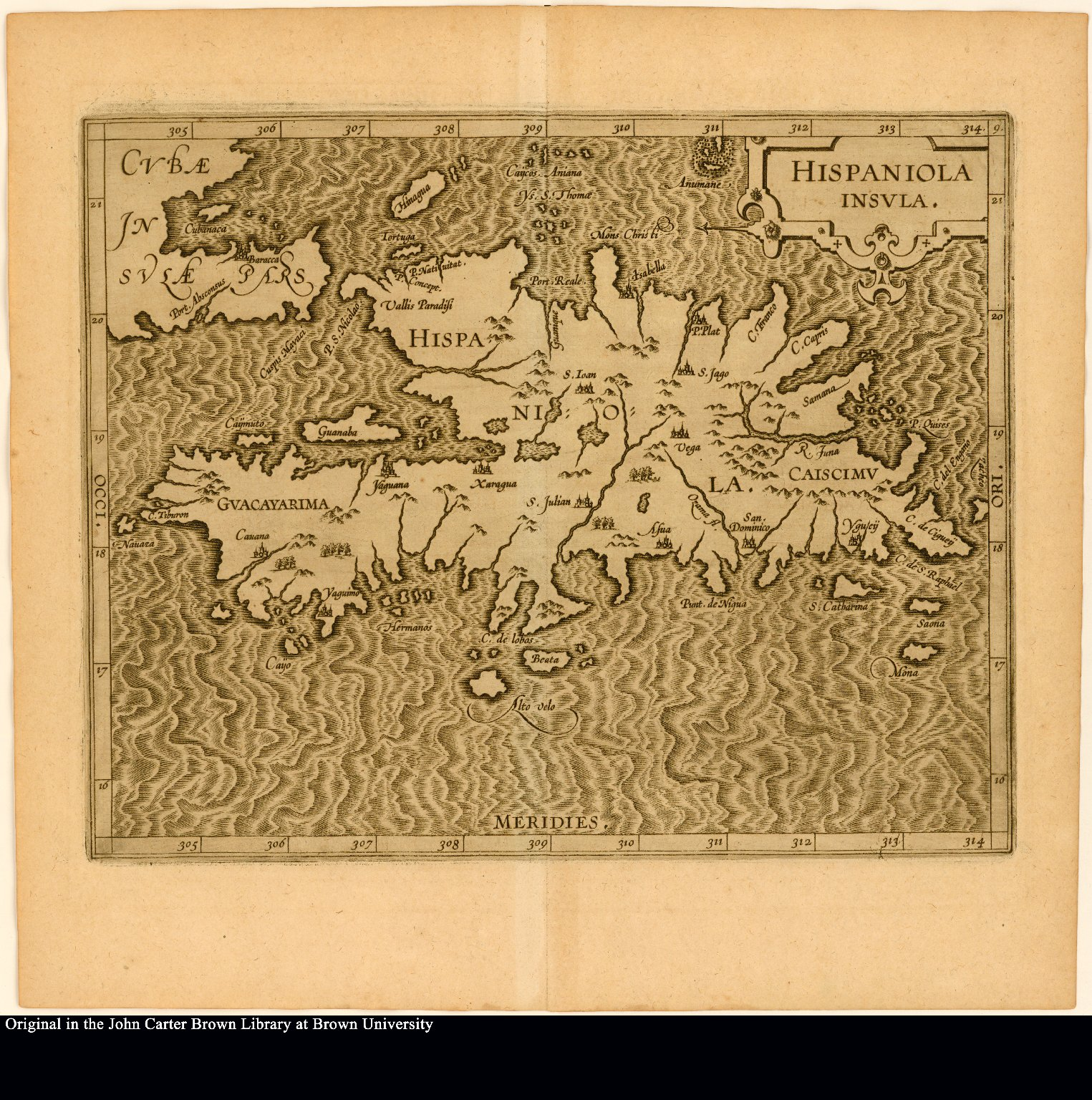 Hispaniola insula.