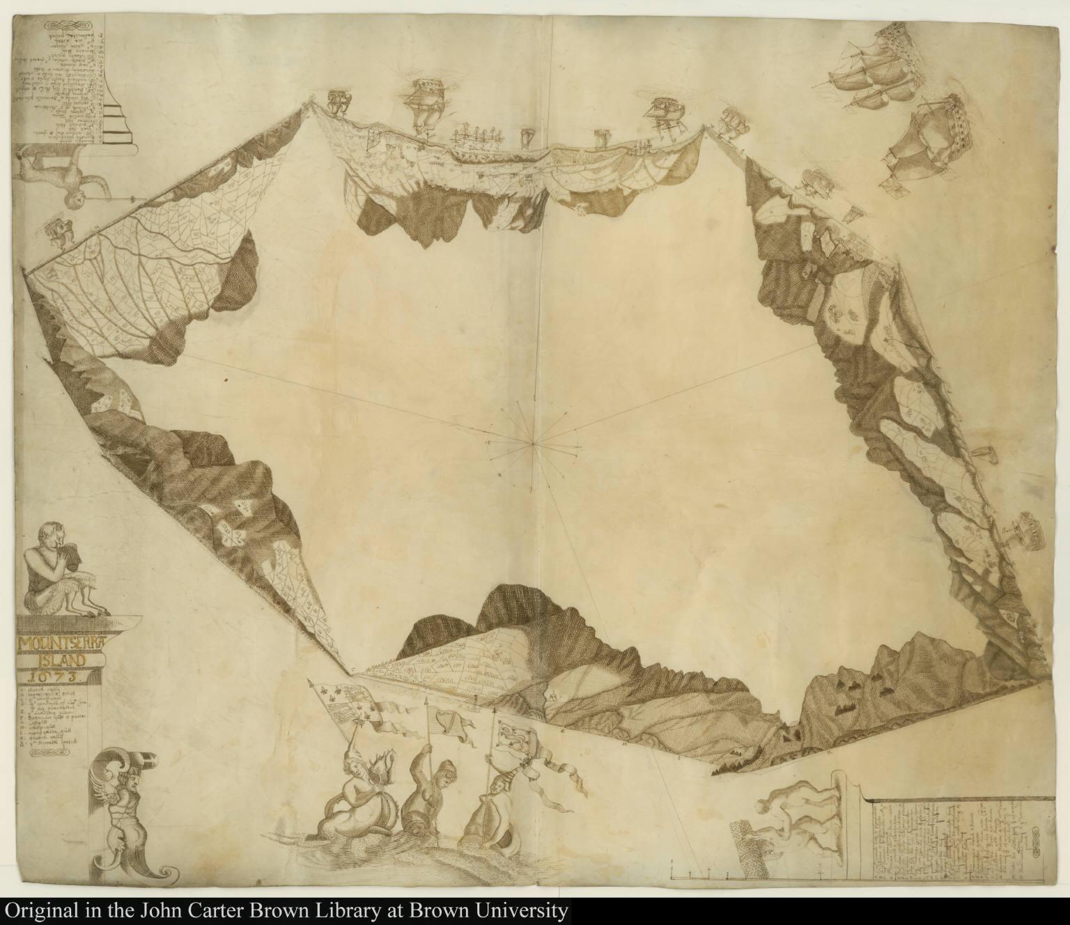 Mountserrat Island 1673.