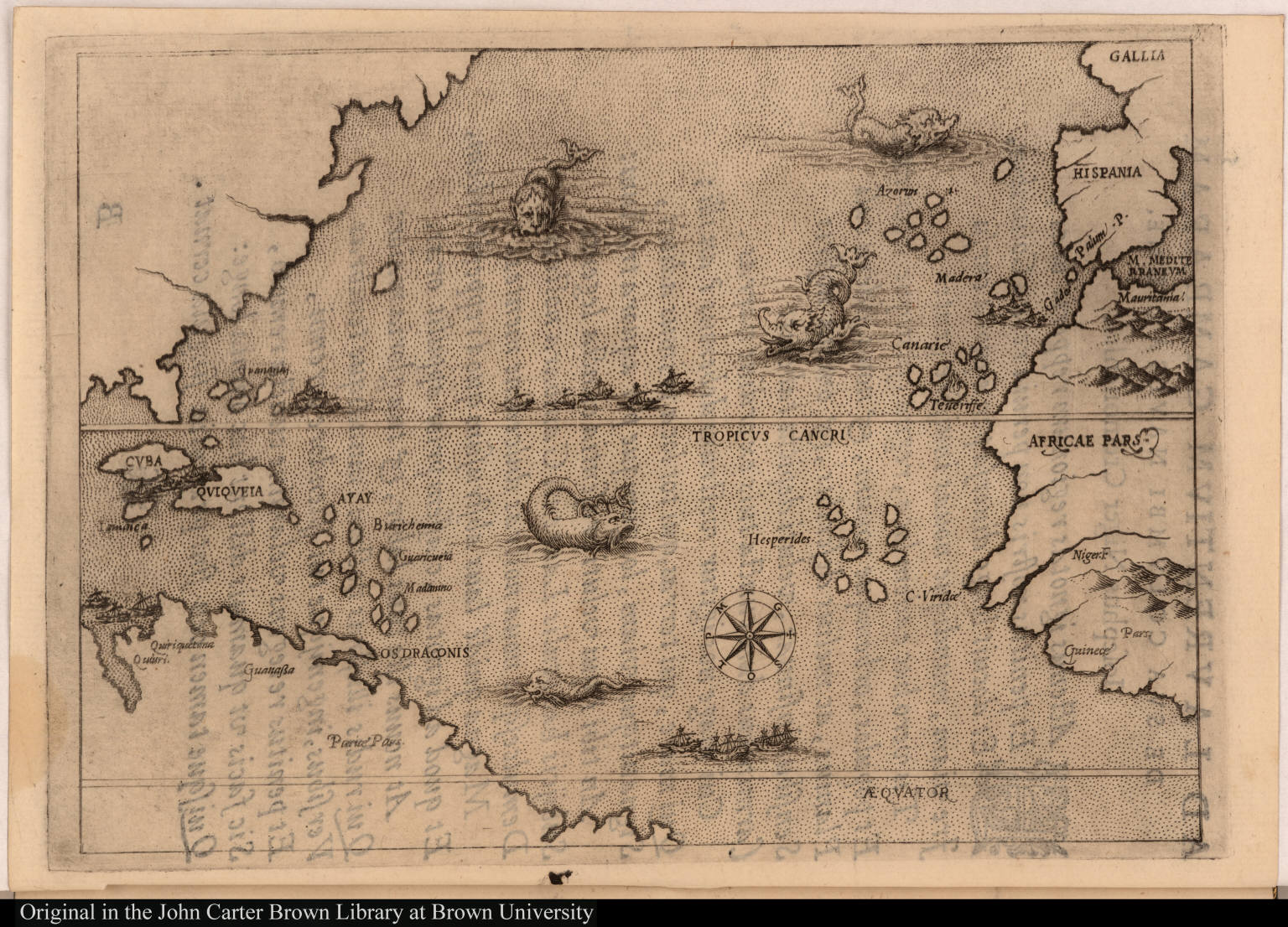 Map Illustrating The Voyage Of Christopher Columbus JCB Map - Columbus maps